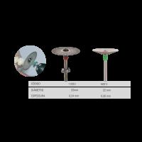 Disco Diamantado Total e Côncavo