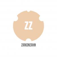 Bloco Cera | Marfim - P/ Sist. Zirkonzahn